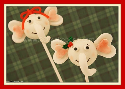 Elephant Cake Pop Instructions