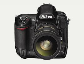 A Nikon D3x.  My dream camera. I'd have two of them!