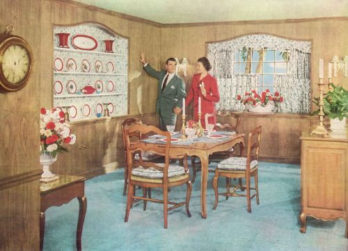 Awesome 1950s Dining Room Decor