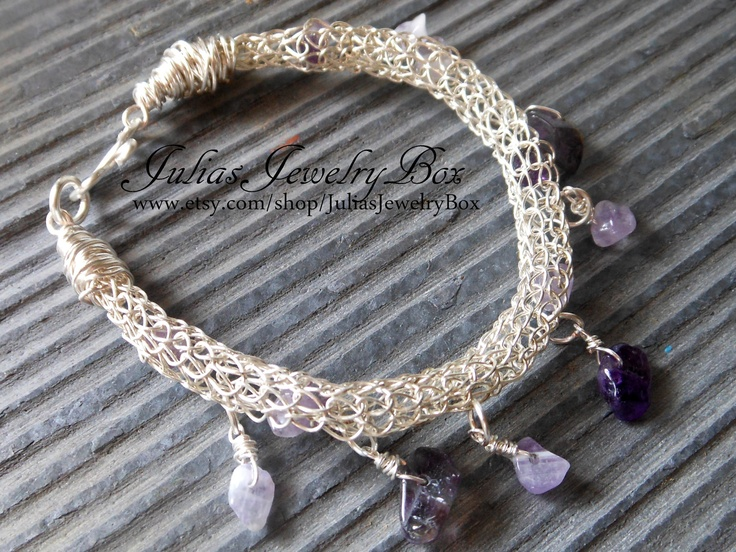 Knitting With Wire Instructions : Images about jewelry viking knit on pinterest