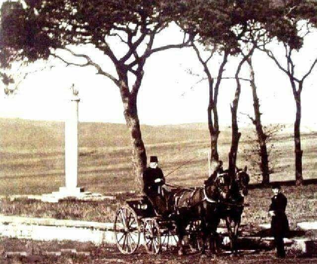 """Levent çayırı. """"Bir Zamanlar Levent"""" (1900'lar)"""
