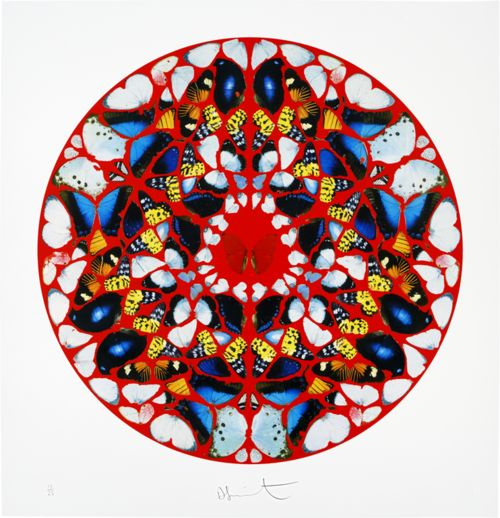 Mandala-inspired art 01  Choices of using coloured paper, coloured markers, paint etc. to a geometric repeated design