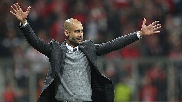 Manchester City confirmó que Josep Guardiola será su entrenador a partir de la temporada 2016/17. ¡Se agarra la Premier League! February 01, 2016.