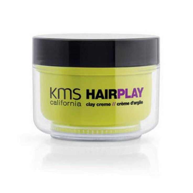 KMS HAIR PLAY CLAY CREME 4.2 OZ