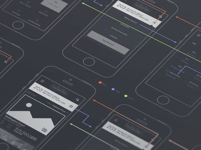mobile site flow by Eddie Lobanovskiy