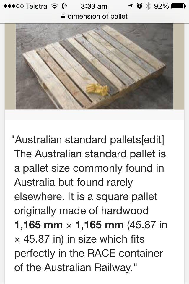 Célèbre 8 best -Bois-Palettes Dimensions- images on Pinterest | Pallets CG59
