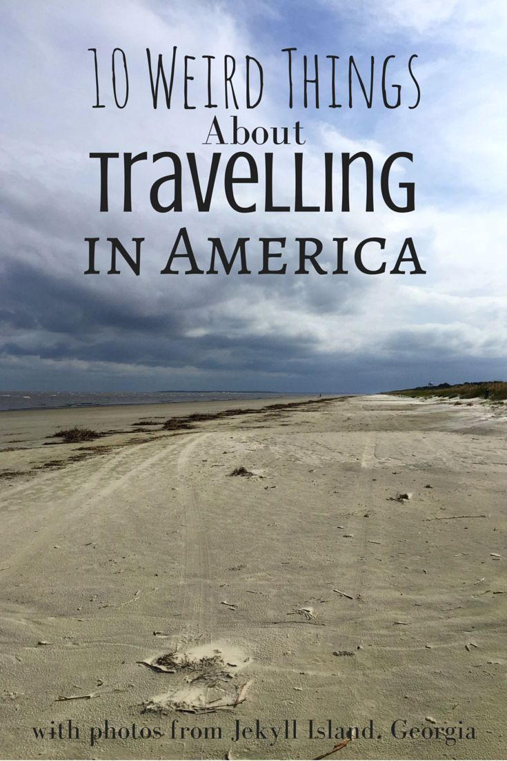 10 Weird Things About Travelling in America: Observations on travel in the USA and American culture by a Kiwi traveller.