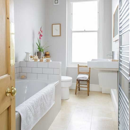 Bathroom | Victorian end-of-terrace house | House tour | PHOTO GALLERY | Style at Home | housetohome.co.uk