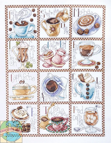 Design Works - Coffee Break - Cross Stitch World