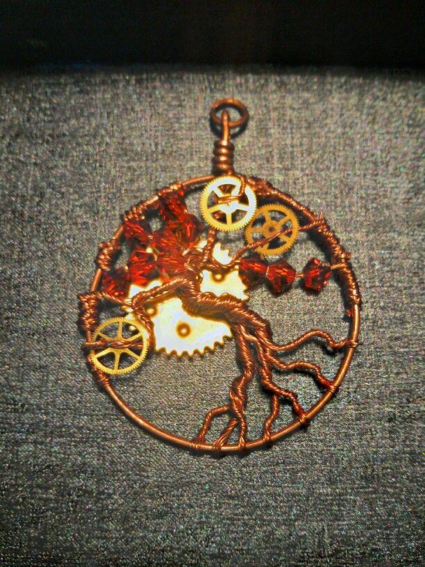 Steampunk Tree of Life.