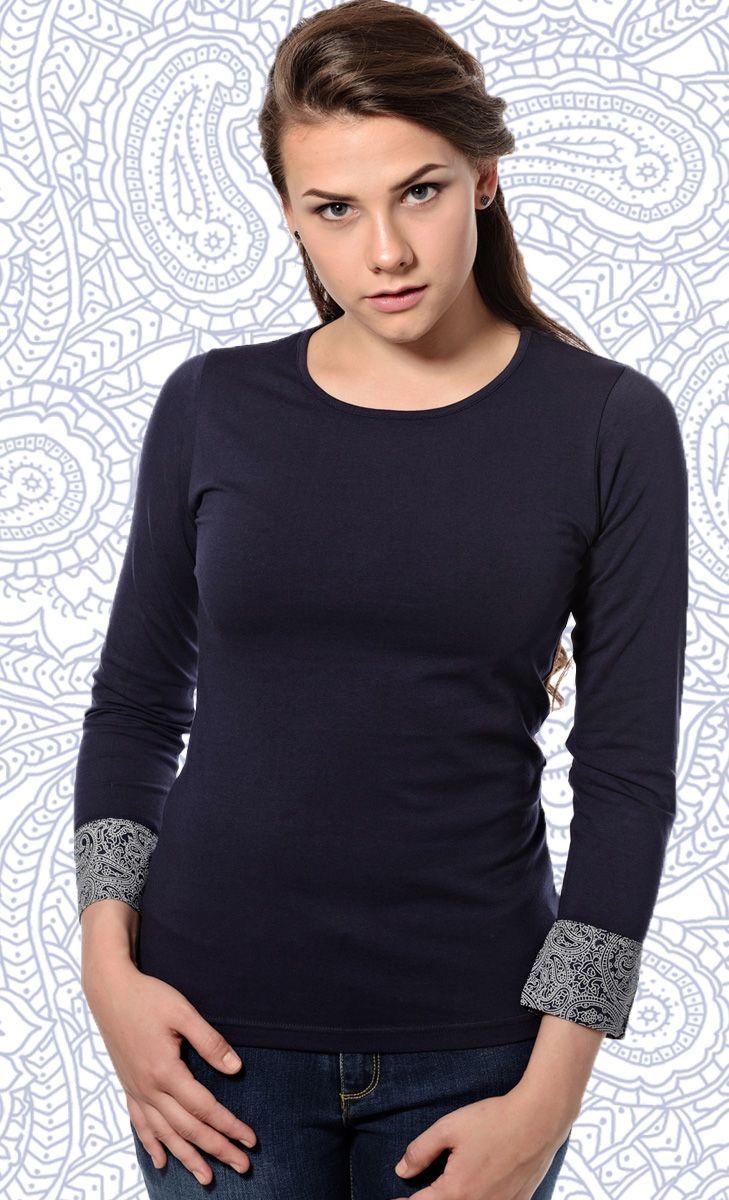 Solid T Shirts Jersey with Printed Cuff | Mavango Fashion eStore