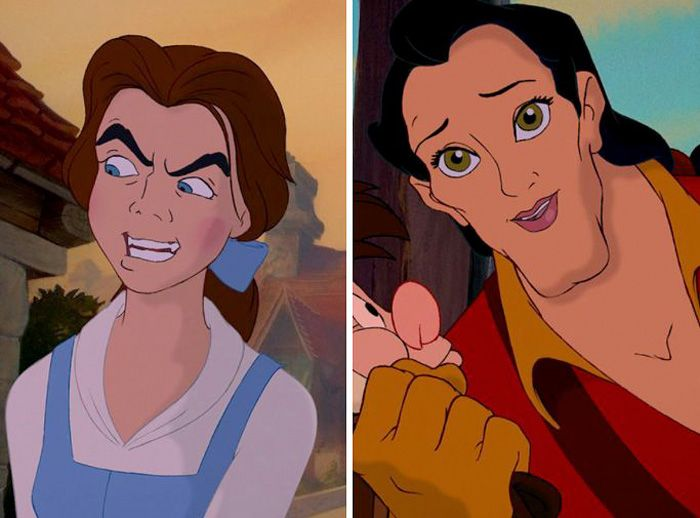 Disney's Heroes and Villains Get Face Swaps and It's Ridiculous — GeekTyrant