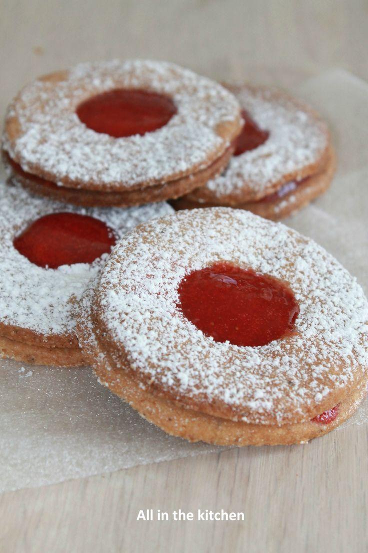 sablé aux fraises & noisette #YummyFraise