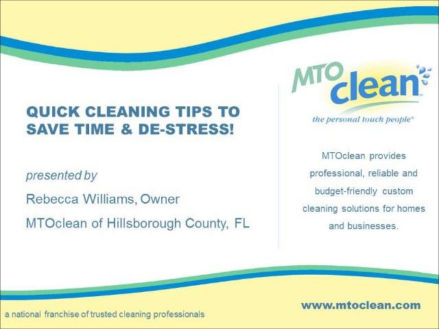 Home Improvement Radio USA: Cleaning Tips. Video by MTOclean.