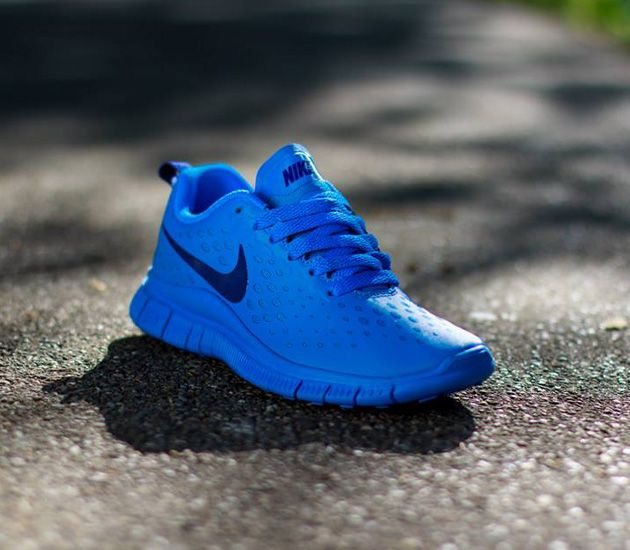 huge discount 69dc8 0bf15 Nike Free Express GS - Photo Blue   Deep Royal Blue
