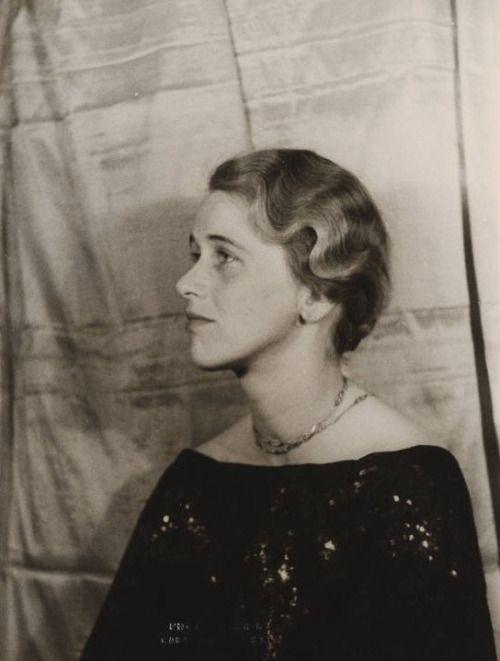Anna Roosevelt Halsted, 1935 by Carl Van Vechten