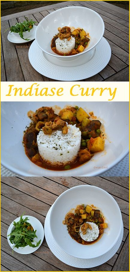 Indiase Curry met Rijst. #recept  #Indiase #curry