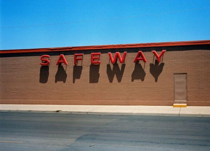 Вим Вендерс. «Safeway», Корпус Кристи, Техас. 1983. Предоставлено галереей Blain Southern, Лондон