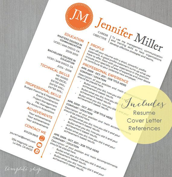 19 best Resume Templates images on Pinterest Cv resume template - resume scanner