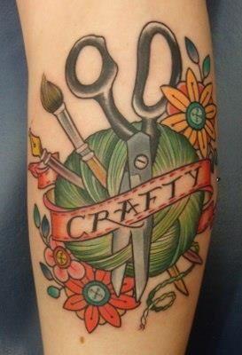 ... Knit Fast Die Warm on Pinterest | Scissors tattoo Crafts and Warm
