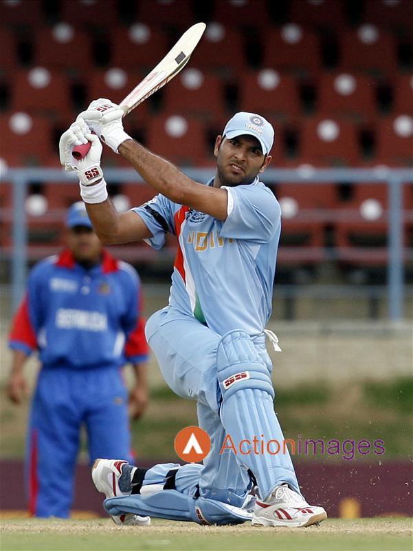 Yuvraj Singh - India.