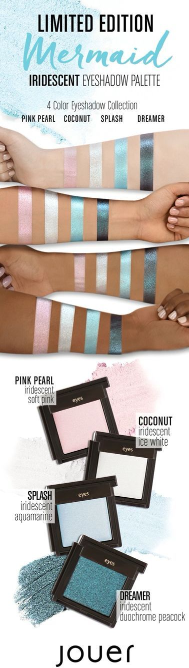 Jouer Limited Edition 'Mermaid' Iridescent Eyeshadow Palette
