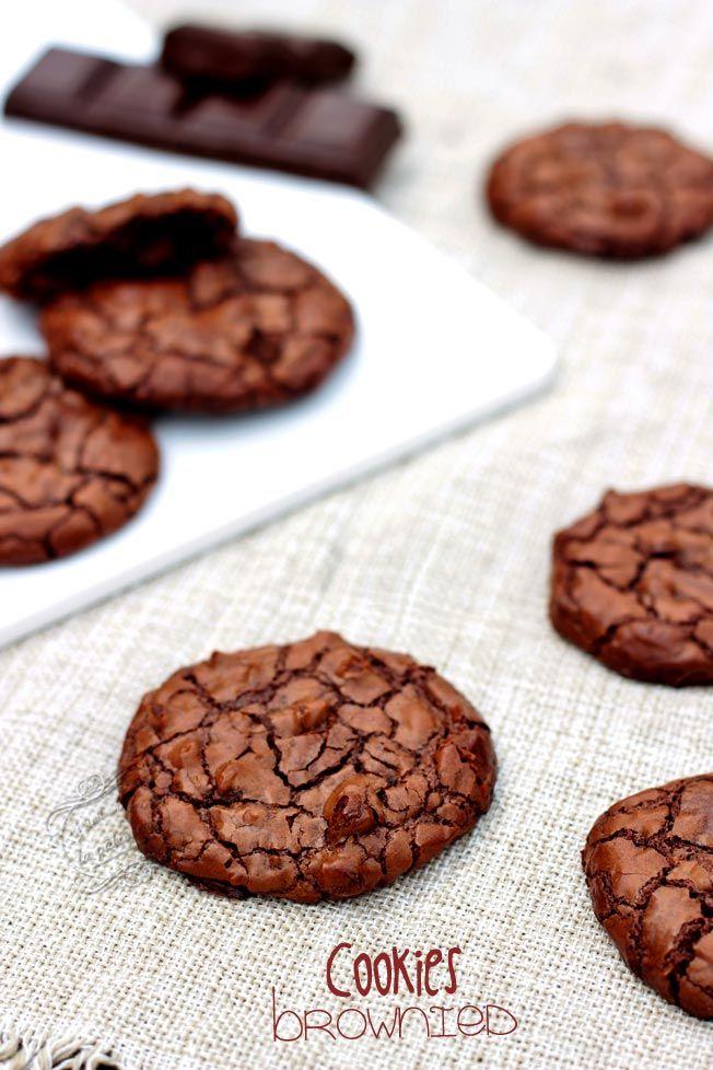 Il était une fois la pâtisserie...: Recette des cookies brownies