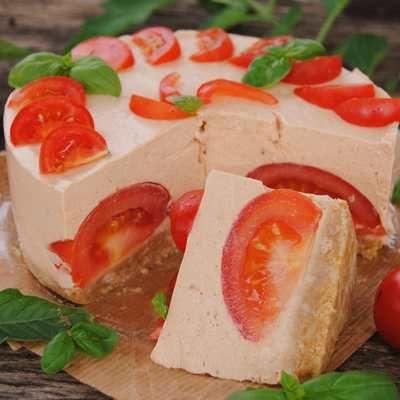 Pomidorowy tort - DoradcaSmaku.pl