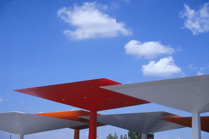 Repsol-Service Station / Foster + Partners 1996-1997