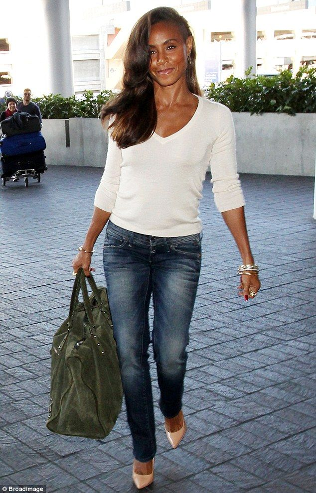 jada pinkett-smith + bag