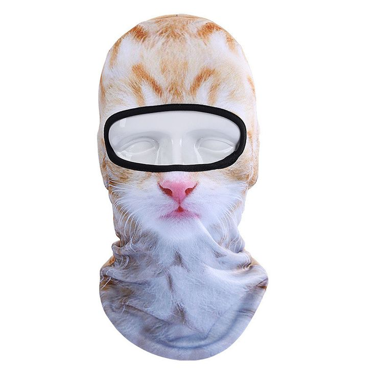 3D Animal Face Mask Outdoor Sports Cap Bicycle Cycling