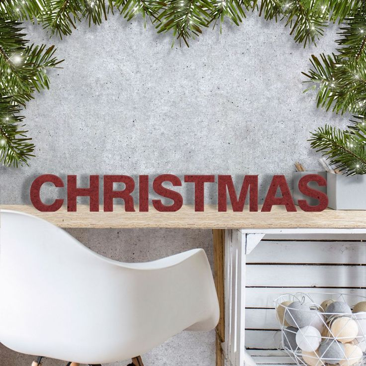 MDF Letters - Christmas