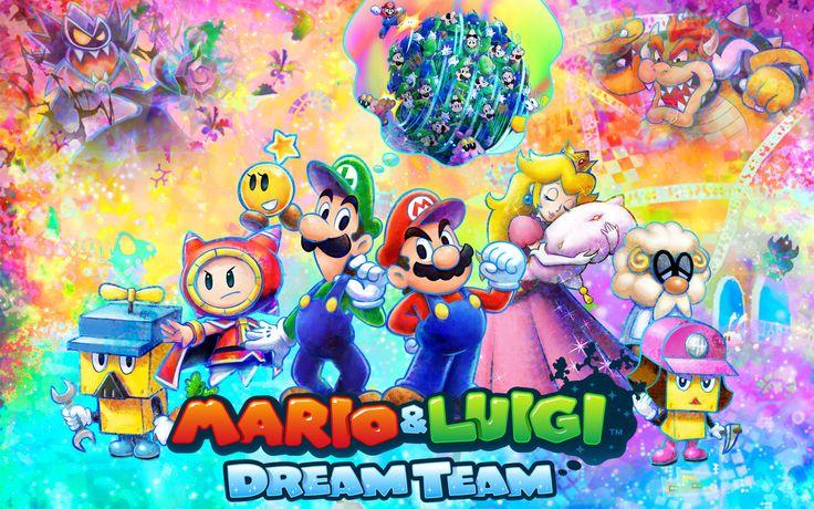 Mario and Luigi Dream Team - Mario and Luigi - Mario and Luigi games - Mario games - Nintendo