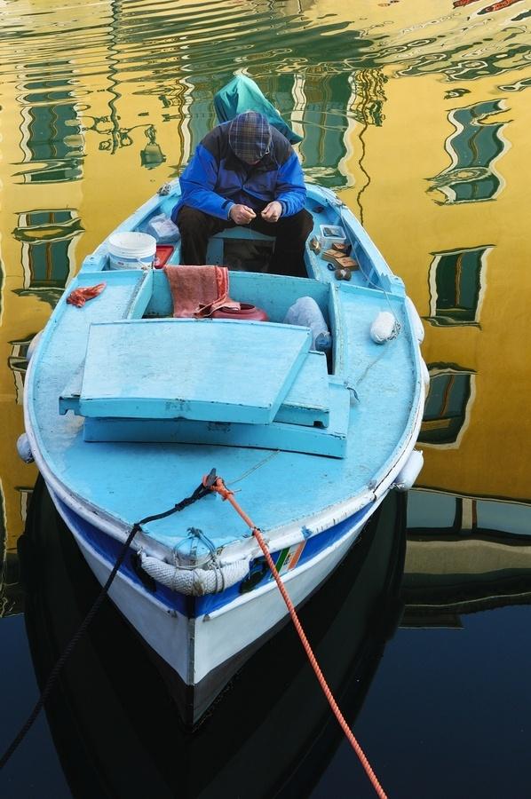 Fisherman in Trieste