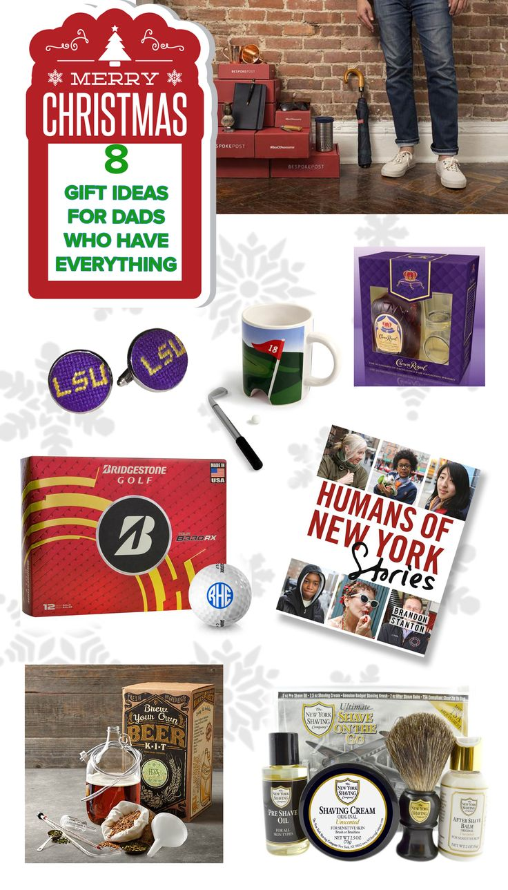 Christmas Gift Ideas For Dad Who Has Everything Part - 42: 27 Holiday Gift Ideas For The Dad Who Has Everything