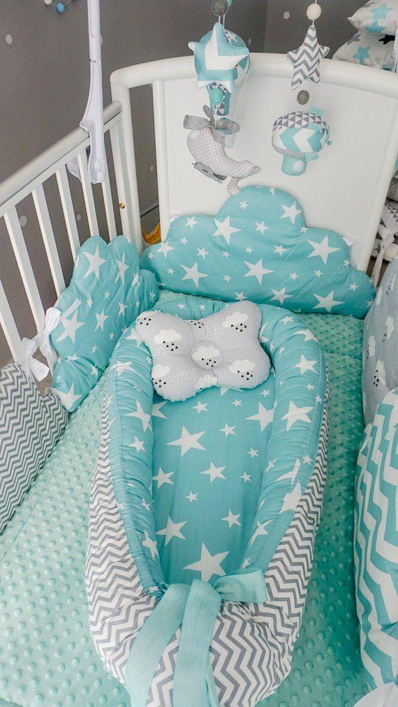 Reduziert Stossstangen Nest Fur Kinderbett Etsy Nursery Baby Room Baby Nursery Baby Room Design