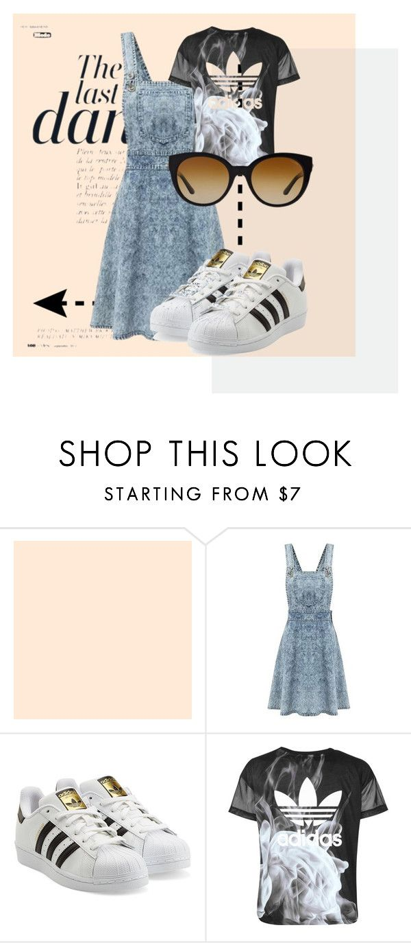 """THE LAST DANCE"" by yuliyusanti on Polyvore featuring Anja, adidas Originals, adidas and Versace"