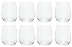 Riedel the O wine tumbler viognier / chardonnay 32 cl kristal 8 stuks.  Claus Riedel was de eerste in de lange geschiedenis van het glas die de vorm liet afhangen van het karakter van de wijn en zo de uitvinder van het functionele wijnglas.