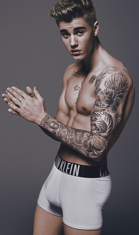 Justin Bieber is the New Face of Calvin Klein, 2015