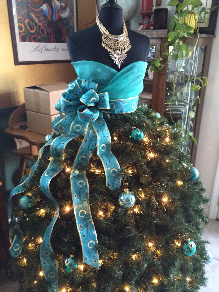 Grand Diva Dress Form Christmas Tree Diy Tutorial