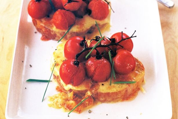Rarebit with Roasted Cherry Tomatoes - A Favourite