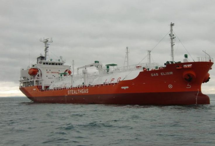 """Oman Shipping Company (OSC) announced the addition of the LPG Carrier """"GAS ELIXIR"""" to its fleet. Description from lngworldnews.com. I searched for this on bing.com/images"""