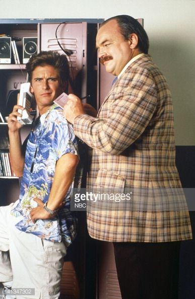 News Photo : Charlie Schlatter as Ferris Bueller, Richard...