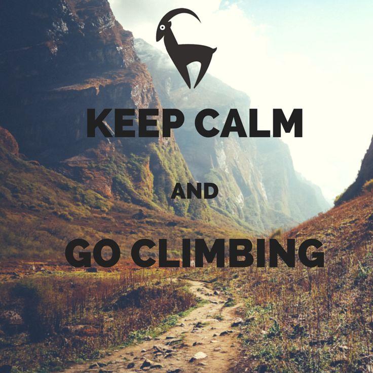 #keepcalmand go #climbing. @goatclimbitalia