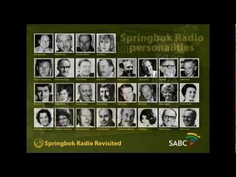 Springbok Radio argiefmateriaal