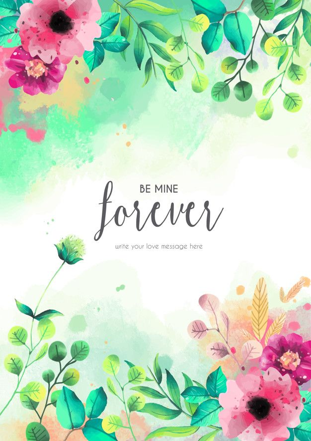 Discover Thousands Of Copyright Free Vectors Graphic Resources For Personal And Commercial Use Thousands Of New Files Floral Cards Love Messages Vector Free
