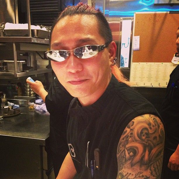 The demon chef at bo innovation. That's his real name. - #HongKong