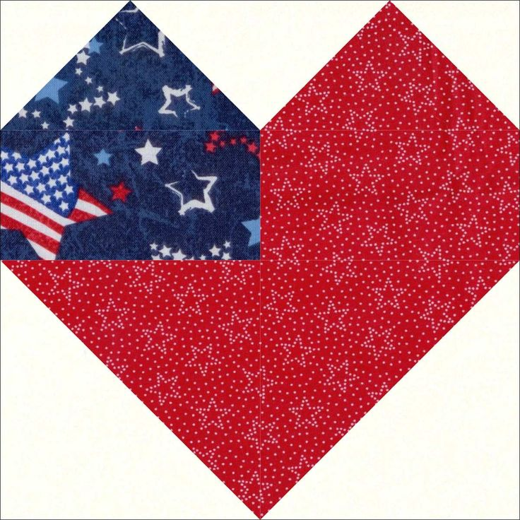 Our quilt kit is already precision pre-cut for accuracy. Fabrics include stars on blue, stars on red and white tonal. This kit is perfect for a heart quilt, Americana quilt, patriotic quilt or quilt o