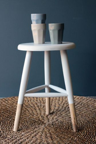 Stool Bedside Table: Wooden Stools, Wooden Stool