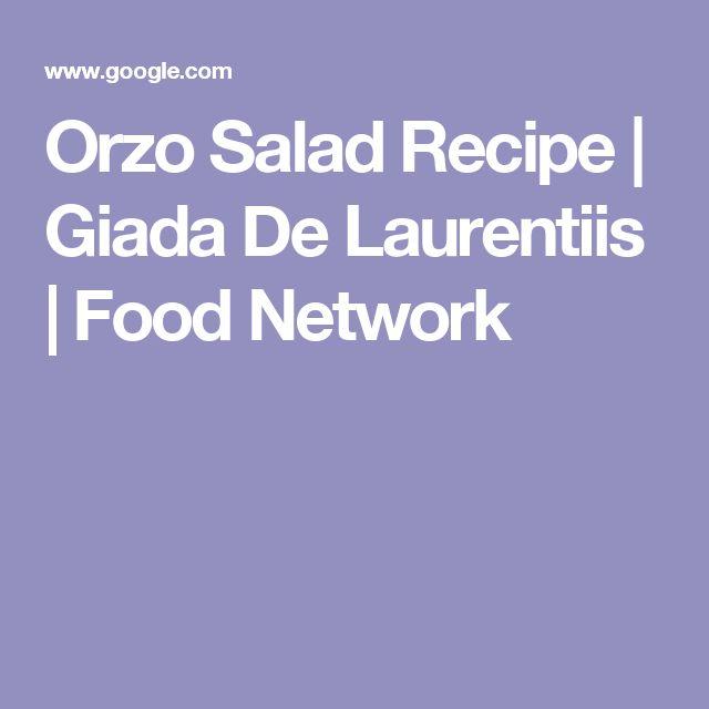 Orzo Salad Recipe | Giada De Laurentiis | Food Network